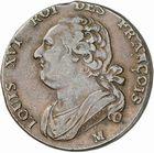 Photo numismatique  ARCHIVES VENTE 2010 -Amateur B 1 et B Chawartz 2 ROYALES FRANCAISES LOUIS XVI (10 mai 1774–21 janvier 1793) Période Constitutionnelle. (1791-1793) 318- 12 deniers, an 5, 1793 Toulouse.