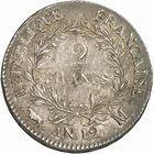 Photo numismatique  ARCHIVES VENTE 2010 -Amateur B 1 et B CHWARTZ 2 MODERNES FRANÇAISES BONAPARTE, 1er consul (24 décembre 1799-18 mai 1804)  319- 2 francs, an 12, Toulouse.