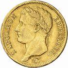 Photo numismatique  ARCHIVES VENTE 2010 -Amateur B 1 et B CHWARTZ 2 MODERNES FRANÇAISES NAPOLEON Ier, empereur (18 mai 1804- 6 avril 1814)  321- 40 francs or, 1809 Toulouse.