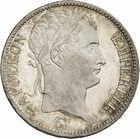 Photo numismatique  ARCHIVES VENTE 2010 -Amateur B 1 et B CHWARTZ 2 MODERNES FRANÇAISES NAPOLEON Ier, empereur (18 mai 1804- 6 avril 1814)  328-5 francs, 1814 Toulouse.