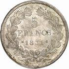 Photo numismatique  ARCHIVES VENTE 2010 -Amateur B 1 et B CHWARTZ 2 MODERNES FRANÇAISES LOUIS-PHILIPPE Ier (9 août 1830-24 février 1848)  334- 5 francs, 1831 Toulouse.