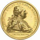 Photo numismatique  ARCHIVES VENTE 2010 -Amateur B 1 et B CHWARTZ 2 MEDAILLES ETATS DE BOURGOGNE  336- Commémoration du début des travaux pour l'ouverture des trois canaux, 1783.