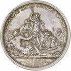 Photo numismatique  ARCHIVES VENTE 2010 -Amateur B 1 et B CHWARTZ 2 MEDAILLES ETATS DE BOURGOGNE  337- Commémoration du début des travaux pour l'ouverture des trois canaux, 1783.