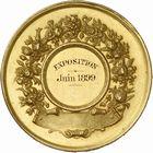Photo numismatique  ARCHIVES VENTE 2010 -Amateur B 1 et B CHWARTZ 2 MEDAILLES LA VIGNE  345- Gironde, société horticole et viticole, 1899.