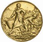 Photo numismatique  ARCHIVES VENTE 2010 -Amateur B 1 et B CHWARTZ 2 MEDAILLES LA VIGNE  348- Sahel-Douera (Algérie), comice agricole, 13 janvier 1901.