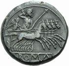 Photo numismatique  MONNAIES RÉPUBLIQUE ROMAINE Période (280-212)  Didrachme.
