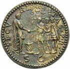 Photo numismatique MONNAIES EMPIRE ROMAIN NERON (54-68) Imitation du sesterce.