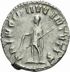 Photo numismatique  MONNAIES EMPIRE ROMAIN HERENNIUS ETRUSCUS (César 250-251 - Auguste 251)  Antoninien.