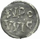 Photo numismatique  MONNAIES CAROLINGIENS LOUIS LE PIEUX, roi d'Aquitaine (781-814)  Obole de Melle.