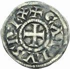 Photo numismatique  MONNAIES CAROLINGIENS CHARLES LE CHAUVE, roi d'Aquitaine (840-866)  Obole Aquitania.