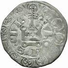 Photo numismatique  MONNAIES ROYALES FRANCAISES JEAN II LE BON (22 août 1350-18 avril 1364)  Gros à la queue. 1ère émission.