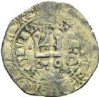 Photo numismatique  MONNAIES ROYALES FRANCAISES JEAN II LE BON (22 août 1350-18 avril 1364)  Blanc au châtel fleurdelisé. 3e émission.