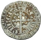 Photo numismatique  MONNAIES ROYALES FRANCAISES JEAN II LE BON (22 août 1350-18 avril 1364)  Gros à la couronne.