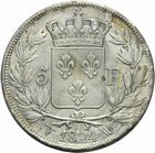 Photo numismatique  MONNAIES MODERNES FRANÇAISES LOUIS XVIII, 2e restauration (8 juillet 1815-16 septembre 1824)  5 francs.