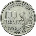 Photo numismatique  MONNAIES MODERNES FRANÇAISES 4ème RÉPUBLIQUE (16 janvier 1947-3 octobre 1958)  100 francs.