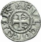 Photo numismatique  MONNAIES BARONNIALES Comté d'ANJOU FOULQUES V (1109-1129) Obole.