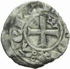 Photo numismatique  MONNAIES BARONNIALES Duché d'AQUITAINE EDOUARD III (1327-1362) Obole au léopard. 4ème type.