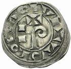 Photo numismatique  MONNAIES BARONNIALES Comté de TOULOUSE RAYMOND V à RAYMOND VII (1148-1194-1222-1249) Denier.