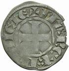 Photo numismatique  MONNAIES BARONNIALES Comté de TOULOUSE ALPHONSE de France (1249-1271) Denier tournois.