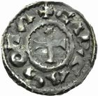 Photo numismatique  MONNAIES BARONNIALES Comté de CARCASSONNE (Xe - XIe siècles) Denier.