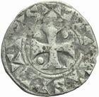 Photo numismatique  MONNAIES BARONNIALES Comté de TROYES HUGUES (1089...) Denier.
