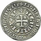 Photo numismatique  MONNAIES BARONNIALES Comté de HAINAUT GUILLAUME Ier (1304-1337) Baudekin. 1ère émission.