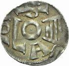 Photo numismatique  MONNAIES MONNAIES DU MONDE ALLEMAGNE COLOGNE, Philippe de Heinsberg (1167-1191) Denier de Soest.
