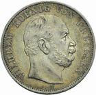 Photo numismatique  MONNAIES MONNAIES DU MONDE ALLEMAGNE PRUSSE, Guillaume 1er (1861-1888) Thaler de 1871.