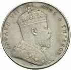 Photo numismatique  MONNAIES MONNAIES DU MONDE ANGLETERRE Straits Settlements (1867-1939) Dollar de 1907.