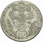 Photo numismatique  MONNAIES MONNAIES DU MONDE AUTRICHE JOSEPH II (1780-1790) 20 Kreutzer de 1786.