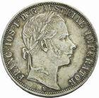 Photo numismatique  MONNAIES MONNAIES DU MONDE AUTRICHE FRANCOIS-JOSEPH (1848-1916) Florin de 1860.