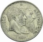 Photo numismatique  MONNAIES MONNAIES DU MONDE BELGIQUE ROYAUME, Léopold II. (1865-1909) 2 francs 1880.