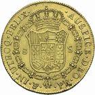 Photo numismatique  MONNAIES MONNAIES DU MONDE BOLIVIE CHARLES IV, roi d'Espagne (1788-1808) 8 escudos or de 1792.
