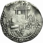 Photo numismatique  MONNAIES MONNAIES DU MONDE BOLIVIE PHILIPPE II, roi d'Espagne (1556-1598) 4 reales.