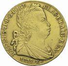 Photo numismatique  MONNAIES MONNAIES DU MONDE BRÈSIL JEAN VI (1818-1822) 6400 reis or de 1818.