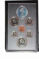Photo numismatique  MONNAIES MONNAIES DU MONDE CANADA ELIZABETH II (depuis 1952) Série de 7 monnaies 1979.