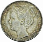 Photo numismatique  MONNAIES MONNAIES DU MONDE PAYS-BAS WILHELMINE (1890-1948) 1 gulden 1905.