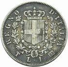 Photo numismatique  MONNAIES MONNAIES DU MONDE ITALIE SAVOIE-SARDAIGNE, Victor Emmanuel II, roi d'Italie (1861-1878) 1 lire 1867.