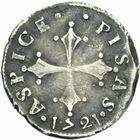 Photo numismatique  MONNAIES MONNAIES DU MONDE ITALIE PISE Cosme III de Médicis (1670-1723) 1/2 giulio ou grosso 1721.