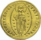 Photo numismatique  MONNAIES MONNAIES DU MONDE ORIENT LATIN ACHAIE, Robert d'Anjou-Tarente (1346-1364). Sequin d'or.