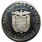 Photo numismatique  MONNAIES MONNAIES DU MONDE PANAMA République (depuis 1903) 20 balboas 1973.
