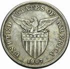 Photo numismatique  MONNAIES MONNAIES DU MONDE PHILIPPPINES Sous administration américaine. 1 peso 1907.