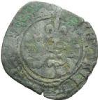 Photo numismatique  MONNAIES ROYALES FRANCAISES HENRI V, roi de France et d'Angleterre (1415-1422)  Niquet ou léopard.