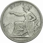 Photo numismatique  MONNAIES MONNAIES DU MONDE SUISSE CONFEDERATION 5 francs de 1874.