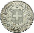 Photo numismatique  MONNAIES MONNAIES DU MONDE SUISSE CONFEDERATION 5 francs de 1907.