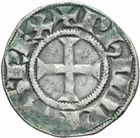 Photo numismatique  MONNAIES ROYALES FRANCAISES PHILIPPE IV LE BEL (5 octobre 1285-30 novembre 1314)  Denier tournois � l'O rond.