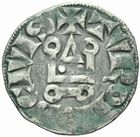 Photo numismatique  MONNAIES ROYALES FRANCAISES PHILIPPE IV le Bel (1285-1314)  Denier tournois � l'O rond.