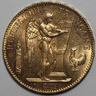 Photo numismatique  MONNAIES MODERNES FRANÇAISES 3ème REPUBLIQUE (4 septembre 1870-10 juillet 1940)  100 francs or.