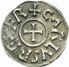 Photo numismatique  MONNAIES CAROLINGIENS CHARLEMAGNE, roi (768-800) empereur (800-814)  Denier de Tours.