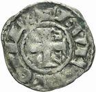 Photo numismatique  MONNAIES BARONNIALES Comté d'ANJOU FOULQUES V (1109-1129) Denier.
